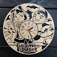 Детские настенные деревянные часы «Гномео и Джульетта», фото 1