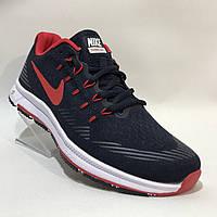 Кроссовки мужские Nike / сетка /  темно-синие 44 р. 28 см, фото 1