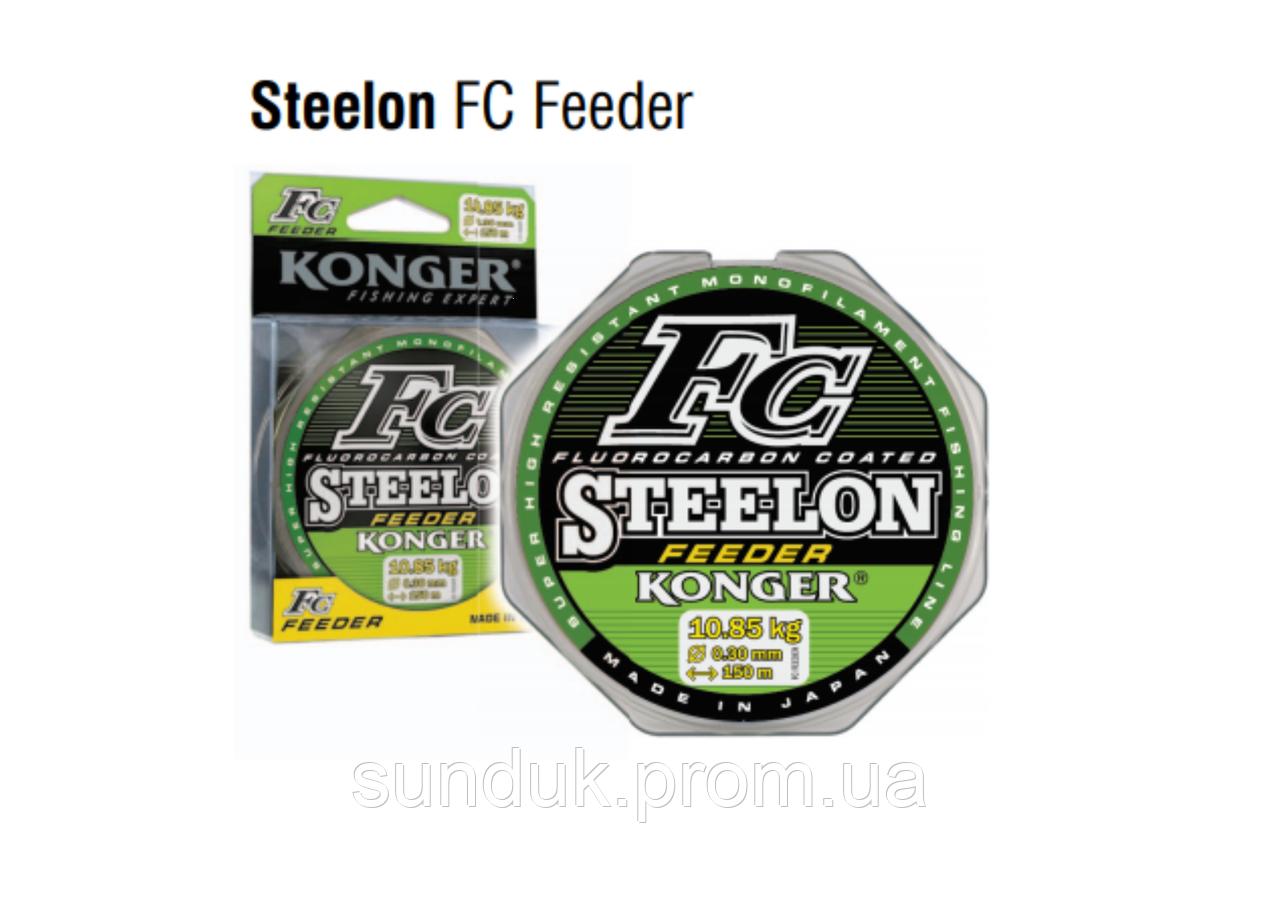 Леска Steelon FC Feeder 100m 0.28mm