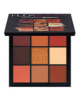 Профессиональная палетка теней для век Huda Beauty Warm Brown Obsessions, фото 1
