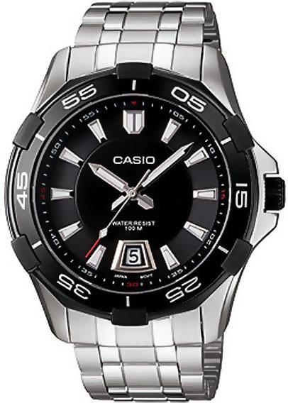 Мужские часы Casio mtd-1063bd-1avdf + ПОДАРОК: Держатель для телефонa L-301
