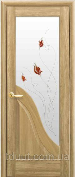 Межкомнатные двери со стеклом Амата
