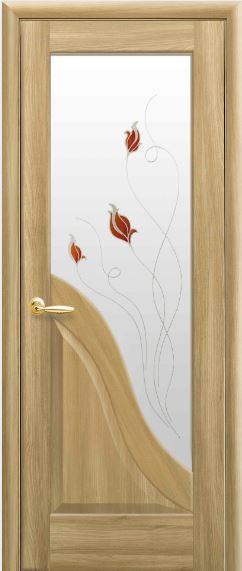 Міжкімнатні двері зі склом Амата