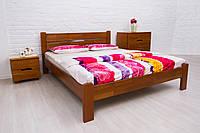 Кровать из бука Айрис без изножья ТМ Олимп