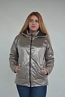 Женская весенняя куртка бронза