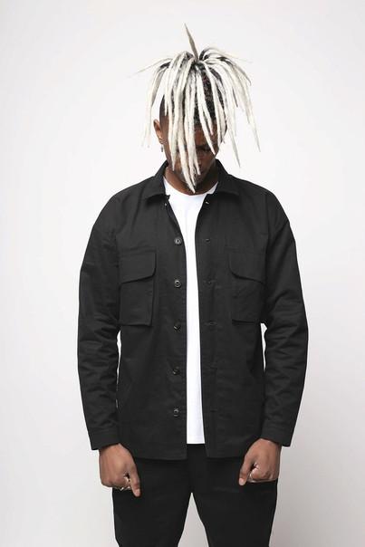 1cbe90d1f197b4a Куртка-рубашка черная мужская Фьюри (Fury) от бренда ТУР размер S, M ...