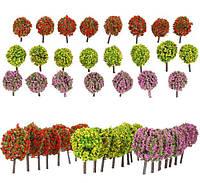 Цветочное дерево для диорам, миниатюр, детского творчества 3,5 см