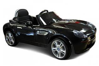 Детский электромобиль BMW Z8 JE1288 черный на пульте, електромобиль БМВ