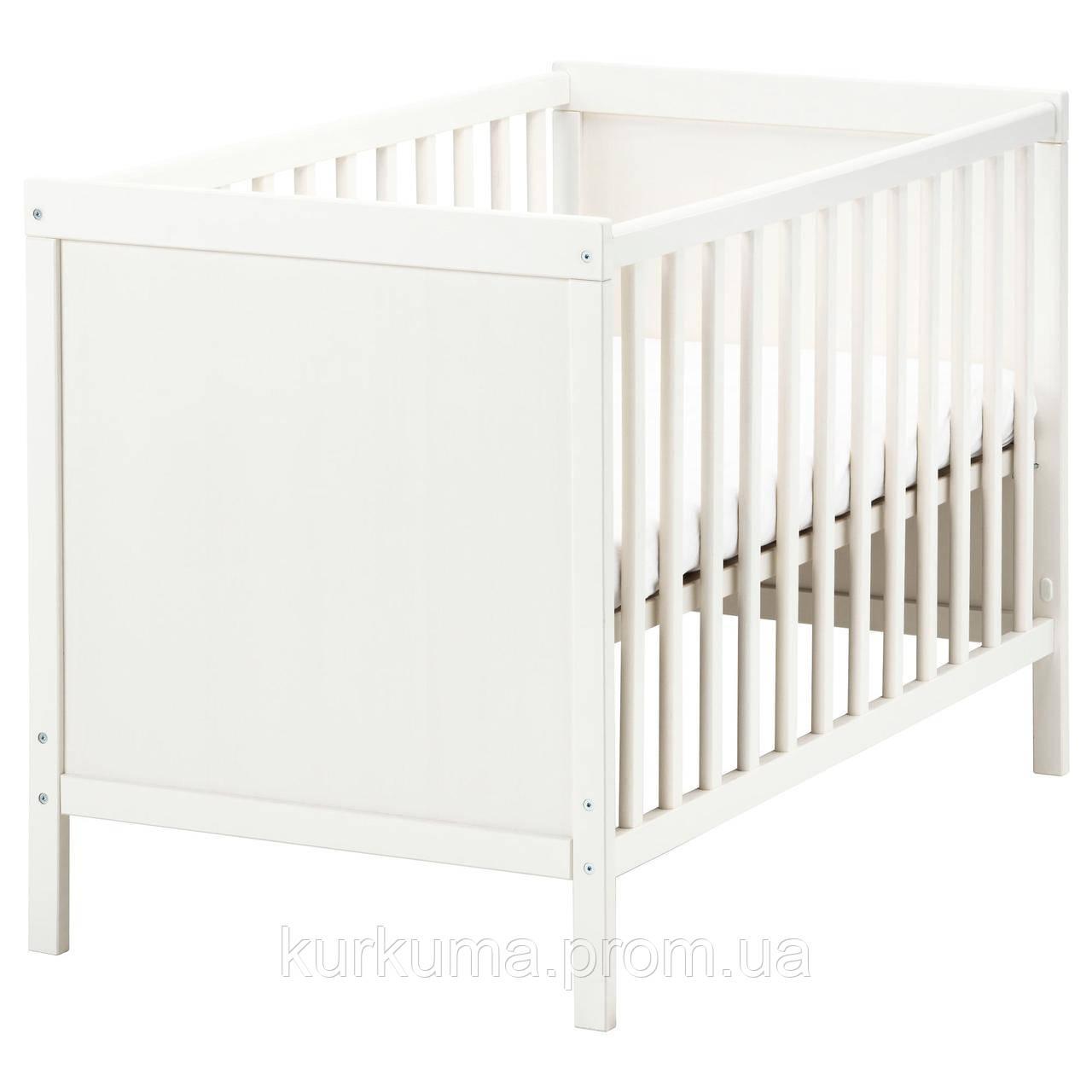 IKEA SUNDVIK Детская кровать, белый  (002.485.67)