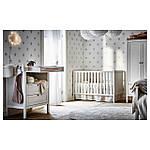 IKEA SUNDVIK Детская кровать, белый  (002.485.67), фото 2