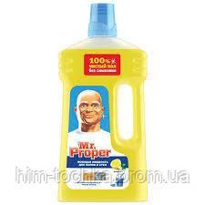 Mr. Proper (Пропер)  лимон 1000 мл средство д/мытья пола