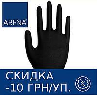 Перчатки нитриловые неопудренные ABENA Classic (черные) 100 шт XS