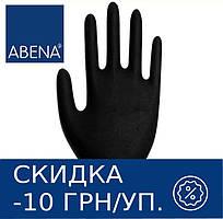 Перчатки нитриловые неопудренные ABENA Classic (черные)