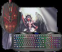Игровой набор Defender Anger MKP-019 RU, мышь+клавиатура+ковер