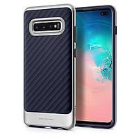 Чохол Spigen для Samsung Galaxy S10 Plus Neo Hybrid, Arctic Silver (606CS25776)