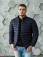 Мужская демисезонная куртка ветровка без капюшона