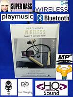 Bluetooth наушники t18 с микрофоном / headphone, фото 1