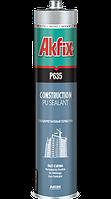 Полиуретановый герметик строительный Akfix P635 310мл коричневый