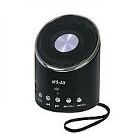 Портативная колонка Wster WS-A9 с ФМ, MP3, USB, радио , фото 1