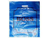 """Пакет з прорізною ручкою """"Бос"""" (40*50) Кривий Ріг (50 шт)"""