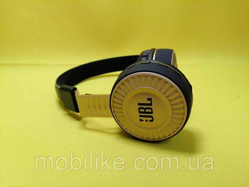Bluetooth наушники JBL JB80 Gold + MP3 плеер