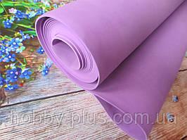 Фоамиран для ростовых цветов, 2 мм, 50х50 см, цвет лаванда