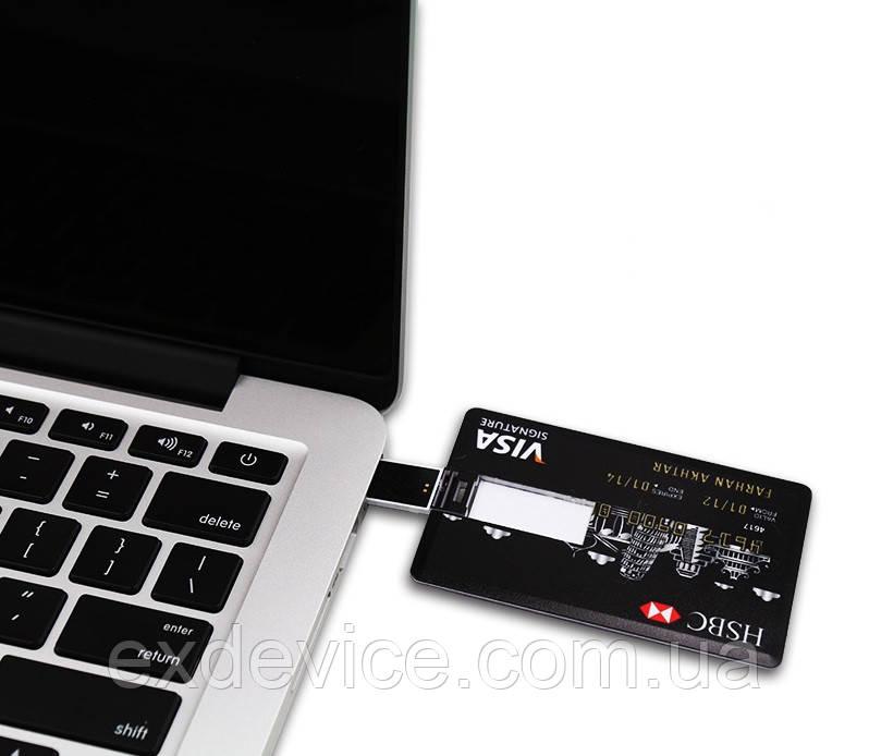 флешка в виде кредитной карты