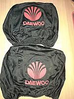 Чохол на підголовник DAEWOO (к-кт 2шт) (чорний) COVERS