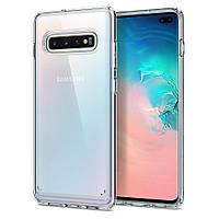 Чохол Spigen для Samsung Galaxy S10 Plus Ultra Hybrid, Crystal Clear (606CS25766)