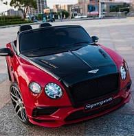 Детский электромобиль Bentley Continental JE1155 красний на пульте, електромобиль Бентли Континенталь
