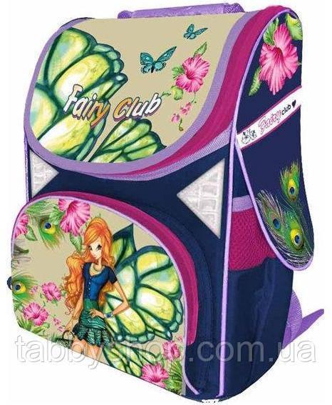 Ранец ортопедический с жестким каркасом CLASS Fairy Flower