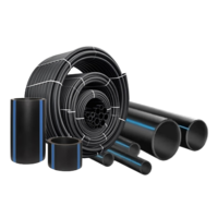 Труба полиэтиленовая ПЭ-100 SDR 17 PN10 Dn 110 мм водопровод