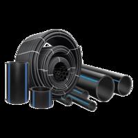 Труба полиэтиленовая ПЭ-100 SDR 11 PN16 Dn 20 мм водопровод