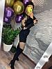 Женский ромпер с декором и молнией по спинке в расцветках. Д-18-0819, фото 2