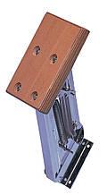 Нержавеюший выносной транец лодочного мотора, с деревяенной плитой