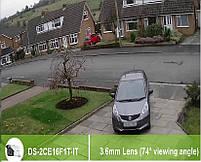 Цилиндрическая видеокамера Hikvision DS-2CE16F1T-IT (3.6 мм), фото 4