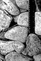 Камень Талькохлорит обвалованный для бани