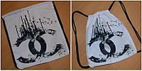 Прогулочная белая сумка-рюкзак Турция