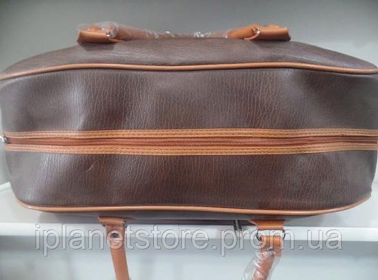 1a9492674933 Дорожная сумка материал кожзам модель 038-3 цвет коричневый, цена 365 грн.,  купить в Одессе — Prom.ua (ID#924716803)