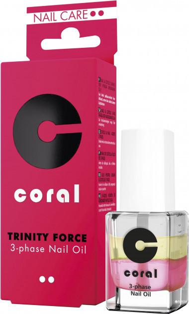 3-х-фазное масло для кутикулы ,,Coral,, 11 мл.