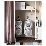 IKEA KLUNKA Корзина для хранения, белый, черный  (503.643.71), фото 5