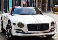 Детский электромобиль Bentley EXP12 JE1166 белый на пульте, електромобиль Бентли