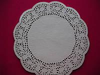 Салфетка ажурная бумажная 30 см