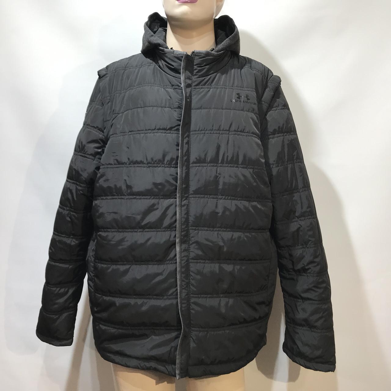 Куртка-жилетка мужская Under Armour  /размеры 56-64/  черная