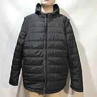 Куртка-жилетка мужская Under Armour  /размеры 56-64/  черная, фото 1