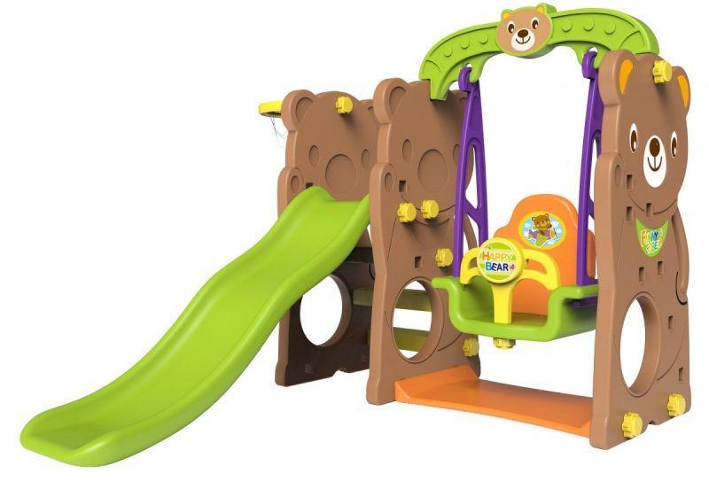 Детская площадка игровая 4 в 1 (Медвежонок)
