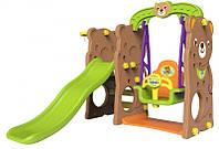 Детская площадка игровая 4 в 1 (Медвежонок), фото 1