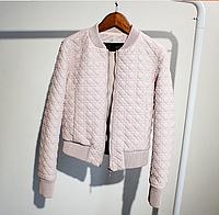 Жіноча шкіряна куртка.Жіноча коротка куртка (01344), фото 1