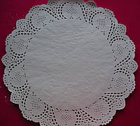 Салфетка ажурная бумажная 42 см