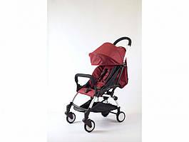 Детская коляска Yoya 175 A Бордовый оксфорд белая рама